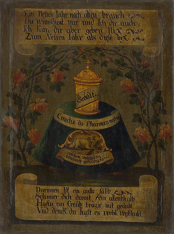 Stredoeurópsky maliar zo začiatku 19. storočia - Novoročné venovanie