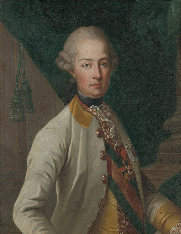 Stredoeurópsky maliar z 1. polovice 18. storočia – Portrét arcivojvodu Leopolda (II.)