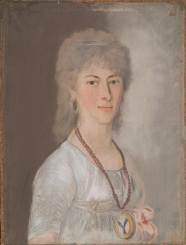 Stredoeurópsky maliar okolo 1. štvrtiny 19. storočia - Portrét dámy