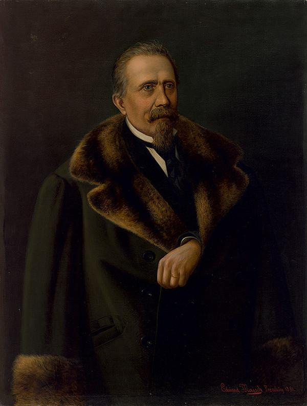 Eduard Majsch – Portrét Karla Mayrbergera