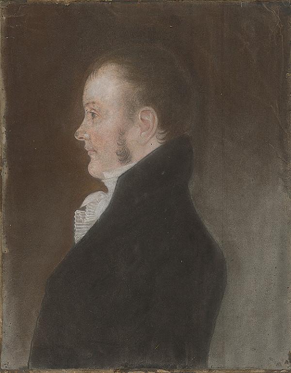 Stredoeurópsky maliar zo začiatku 19. storočia - Portrét neznámeho muža