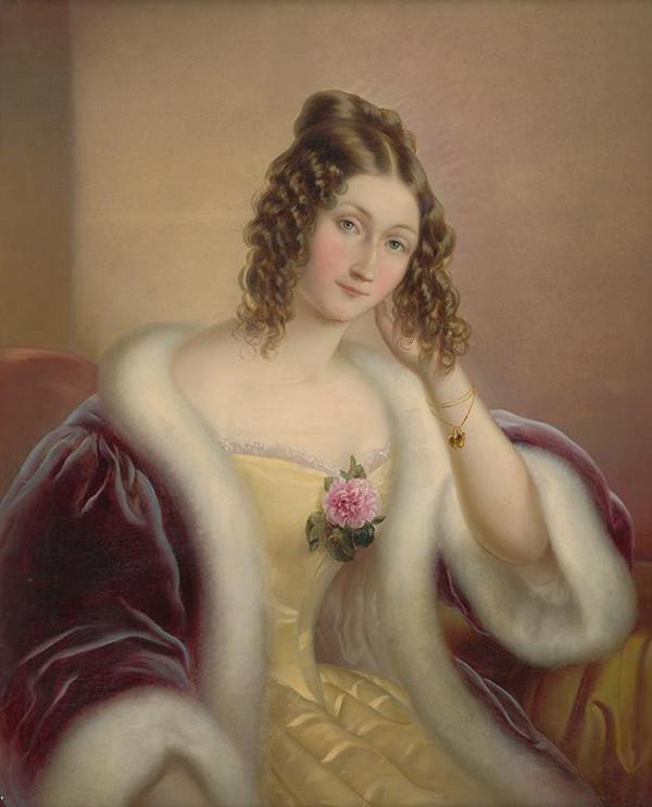 Ferdinand Karl Theodor Lütgendorff - Portrét dámy