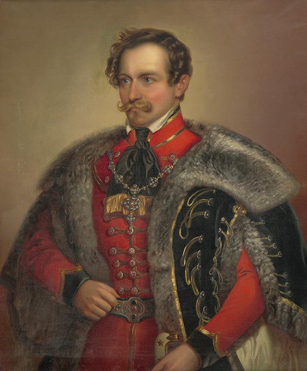 Ferdinand Karl Theodor Lütgendorff – Portrét muža v uniforme