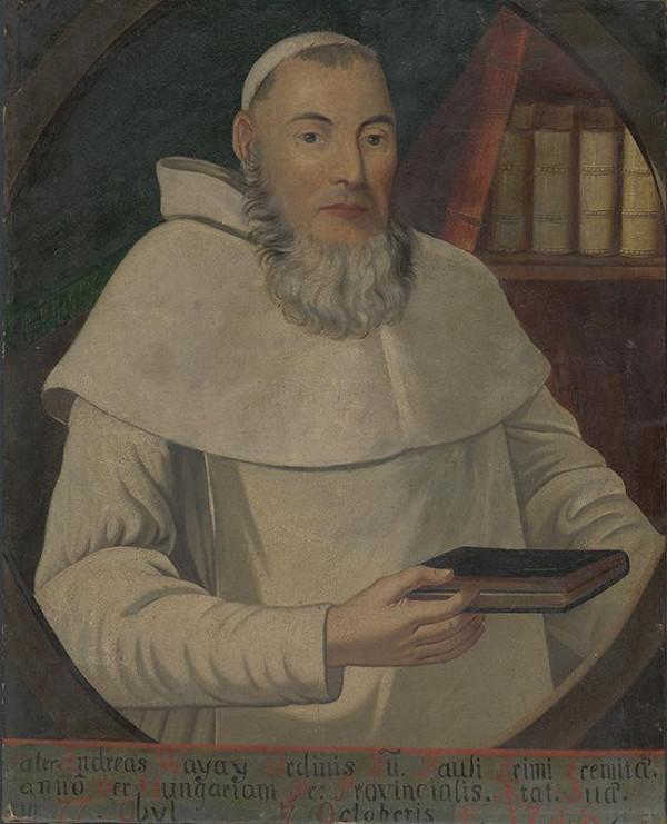 Stredoeurópsky maliar z 1. polovice 18. storočia – Portrét pátra Andreasa Wayayho