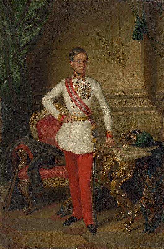 Friedrich Wailand, Anton Einsle - Portrét cisára Františka Jozefa I.