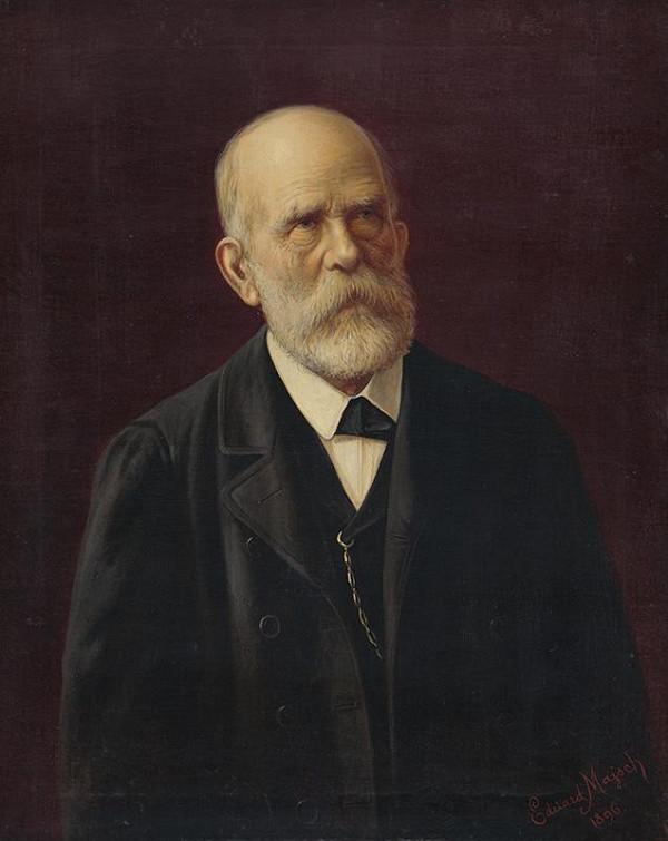 Eduard Majsch – Portrét staršieho muža so zlatou reťazou