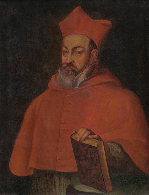 Stredoeurópsky maliar z 3. tretiny 18. storočia – Portrét kardinála Petra Pázmánya