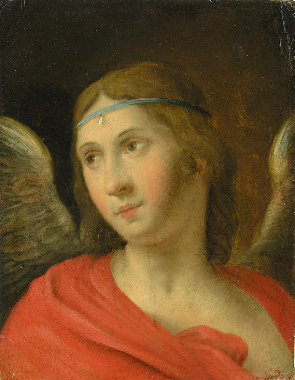 Friedrich Johann Gottlieb Lieder – Anjel zo scény Zvestovania
