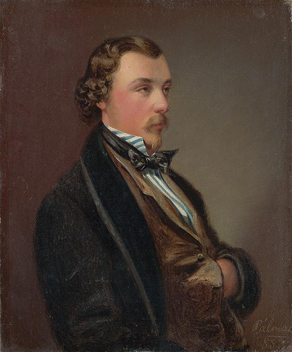 C. Károly Pálmai – Portrét bratislavského obchodníka Wilhelma Collosea