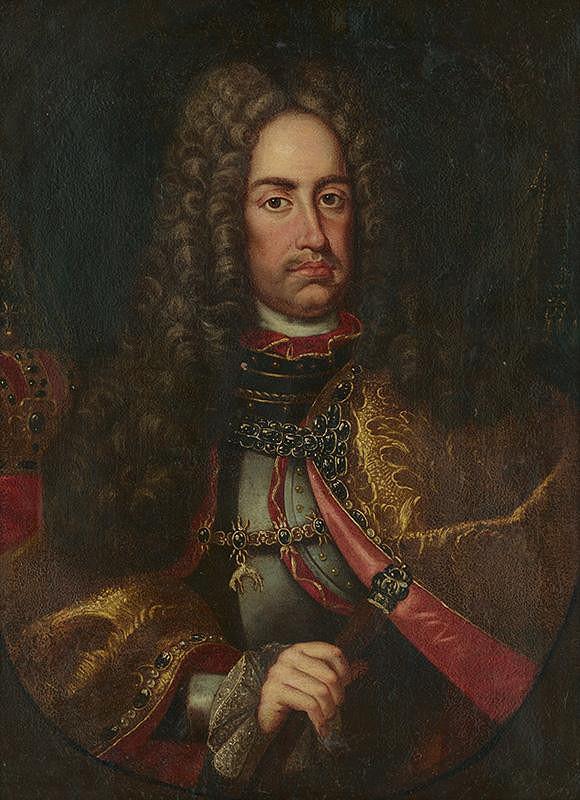 Stredoeurópsky maliar z 1. polovice 18. storočia - Cisár Karol VI.