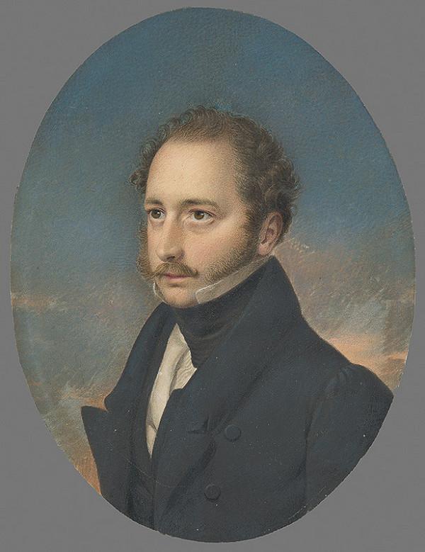 Stredoeurópsky maliar z 2. štvrtiny 19. storočia - Portrét muža