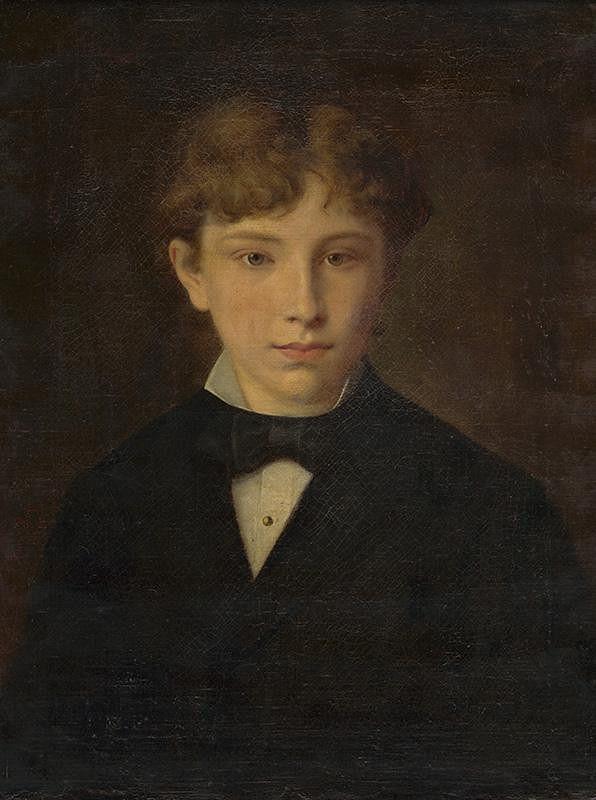 Irma Hoferová - Portrét chlapca