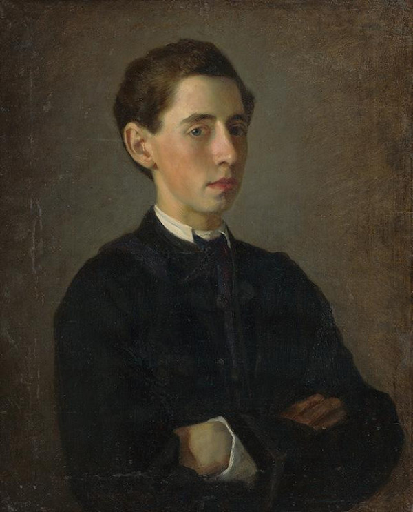 Zsigmund Löschinger – Portrét mladého muža