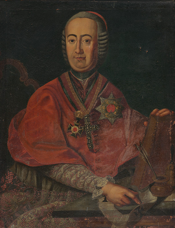 Stredoeurópsky maliar z 2. polovice 18. storočia – Portrét arcibiskupa Jozefa Batthyányiho