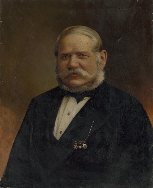 Stredoeurópsky maliar z konca 19. storočia - Portrét Jakuba Palugyaya