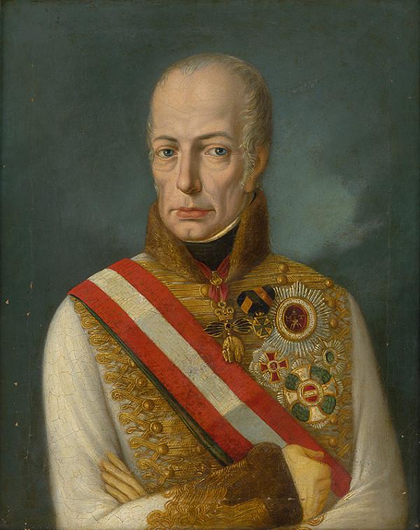Stredoeurópsky maliar zo začiatku 19. storočia - Portrét cisára Františka I.