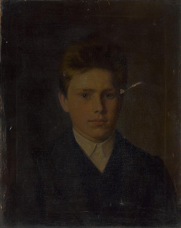 Stredoeurópsky maliar z konca 19. storočia - Portrét chlapca