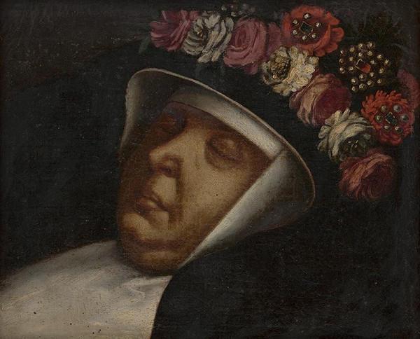 Stredoeurópsky maliar z konca 18. storočia – Posmrtný portrét abatiše z kláštora Alžbetínok v Bratislave