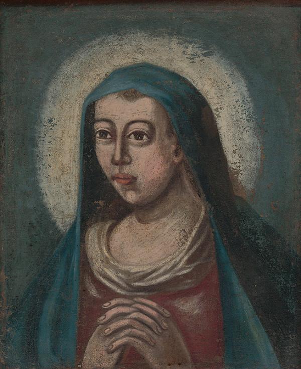 Stredoeurópsky maliar zo začiatku 18. storočia – Panna Mária