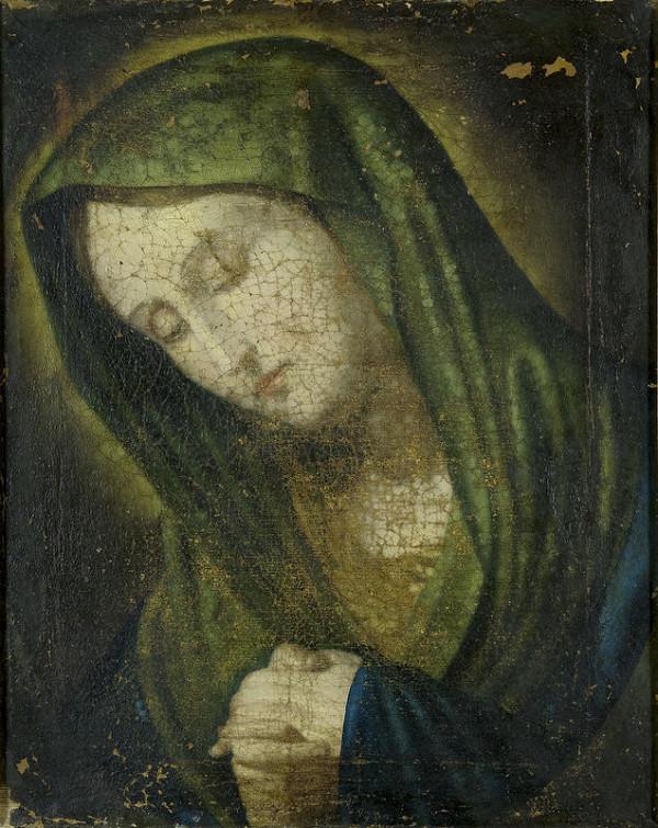 Stredoeurópsky maliar z 2. polovice 18. storočia – Panna Mária Bolestná