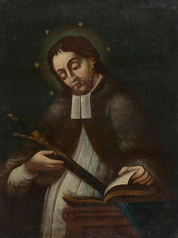 Stredoeurópsky maliar z 2. polovice 18. storočia - Sv. Ján Nepomucký