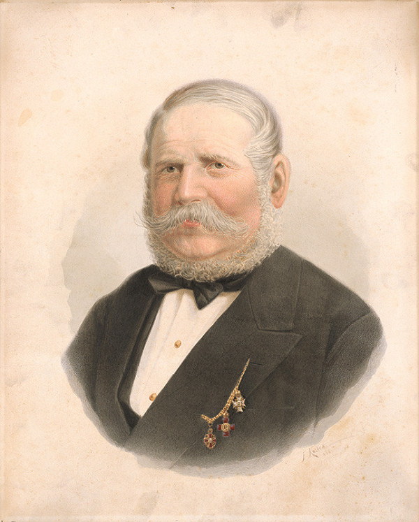 František Kozics – Portrét Jakuba Palugyaya
