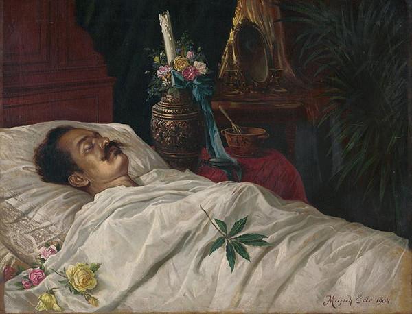 Eduard Majsch – Posmrtný portrét Jána Fadrusza