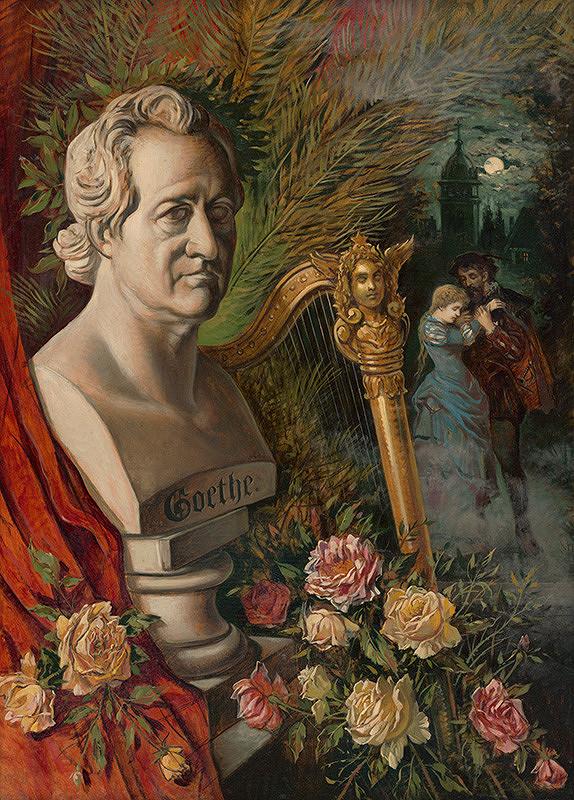 Eduard Majsch – Apoteóza Goetheho