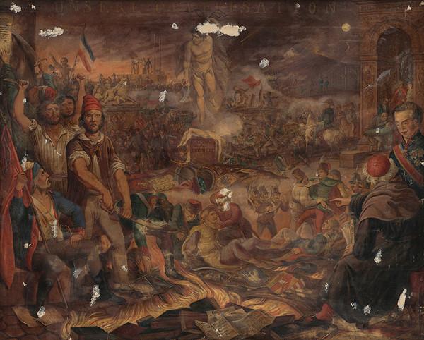 Stredoeurópsky maliar z polovice 19. storočia – Revolučný obraz z rokov 1847-1849