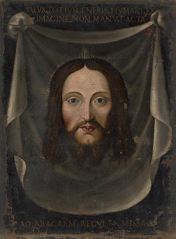 Stredoeurópsky maliar z konca 18. storočia – Ručník sv. Veroniky