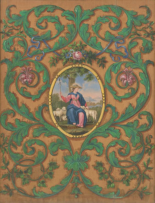 Stredoeurópsky maliar z 19. storočia - Dobrá pastierka