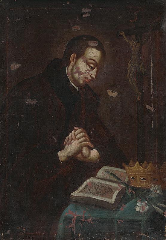 Stredoeurópsky maliar z polovice 18. storočia - Svätý Alojz Gonzaga