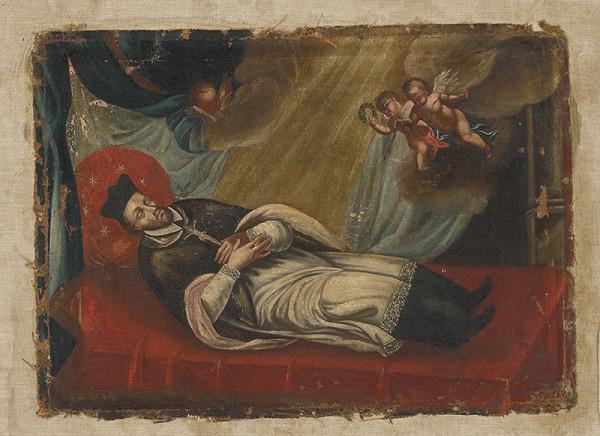 Stredoeurópsky maliar z 18. storočia, Johann Franz Greippel - Svätý Ján Nepomucký po smrti
