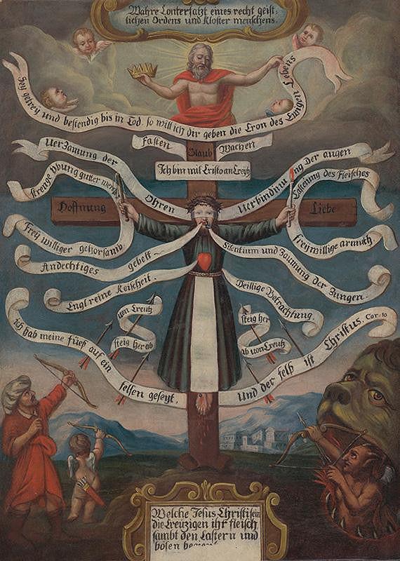 Stredoeurópsky maliar z prelomu 17. - 18. storočia - Zásady rehoľníka - Pravda o slove Božom
