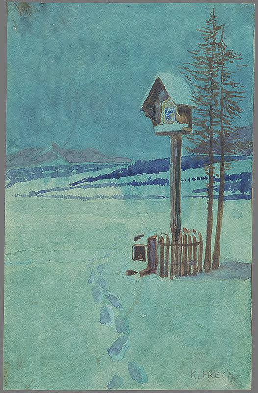 Karol Frech - Zimná krajina