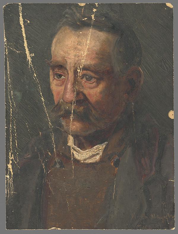 František Kozics, Eduard Majsch – Portrét muža s fúzami