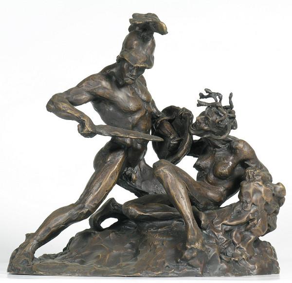 Ján Fadrusz – Perseus a Medúza
