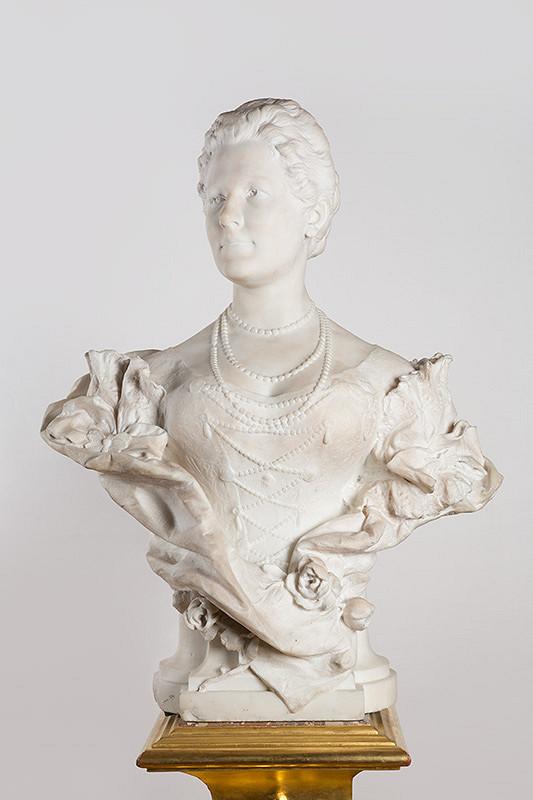Georg Burgstaller - Busta arcivojvodkyne Izabely Rakúsko-tešínskej