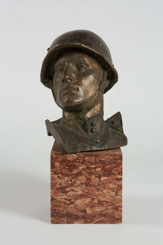 Alexander Trizuljak - Hlava vojaka z pamätníka na Slavíne