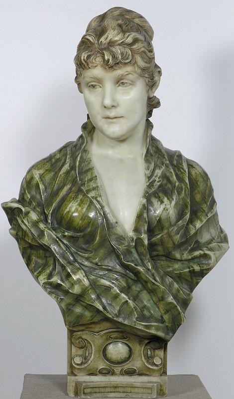 Viktor Oskar Tilgner – Busta Louise Stiffel Wagnerovej