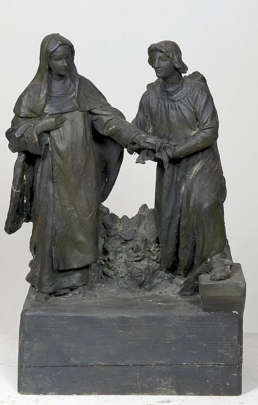 Ján Fadrusz, Alojz Rigele – Blahoslavená Margita Uhorská s anjelom