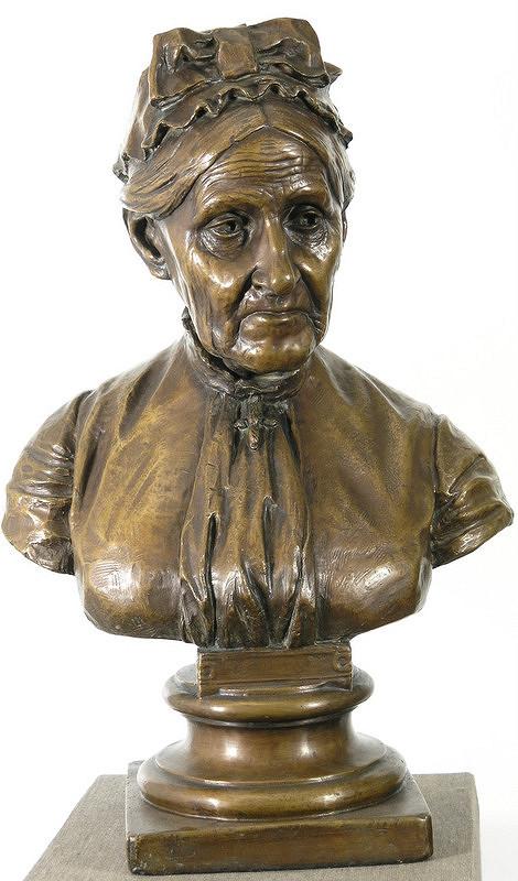 Ján Fadrusz – Portrét Emílie Ortvayovej