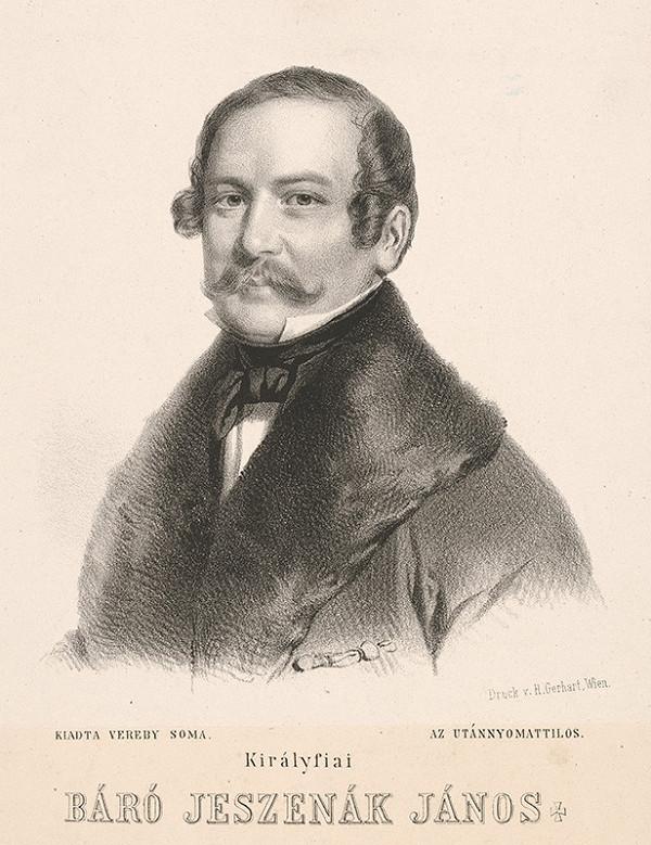 Giuseppe Marastoni - Portrét Jána Jeszenáka