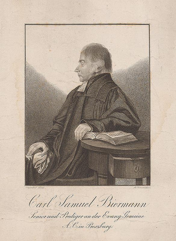 Ferdinand Karl Theodor Lütgendorff, Adám Sándor Ehrenreich - Portrét Karola Samuela Biermanna