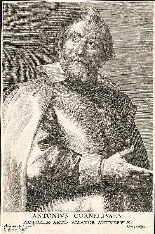 Anthony van Dyck, Lucas Vorsterman - Anthony Cornelissen