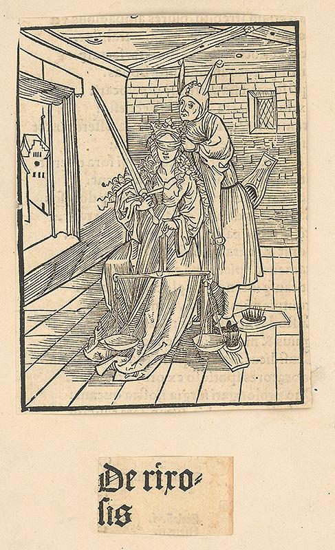 Stredoeurópsky grafik zo 16. storočia – De rirosis
