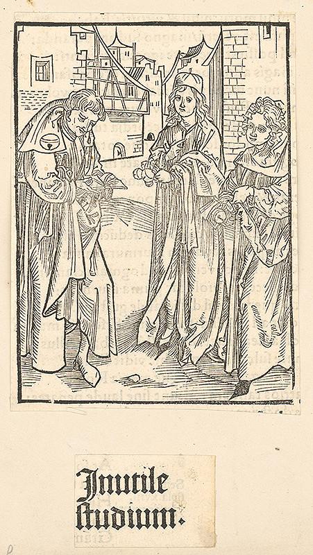 Stredoeurópsky grafik zo 16. storočia - Inutile studium
