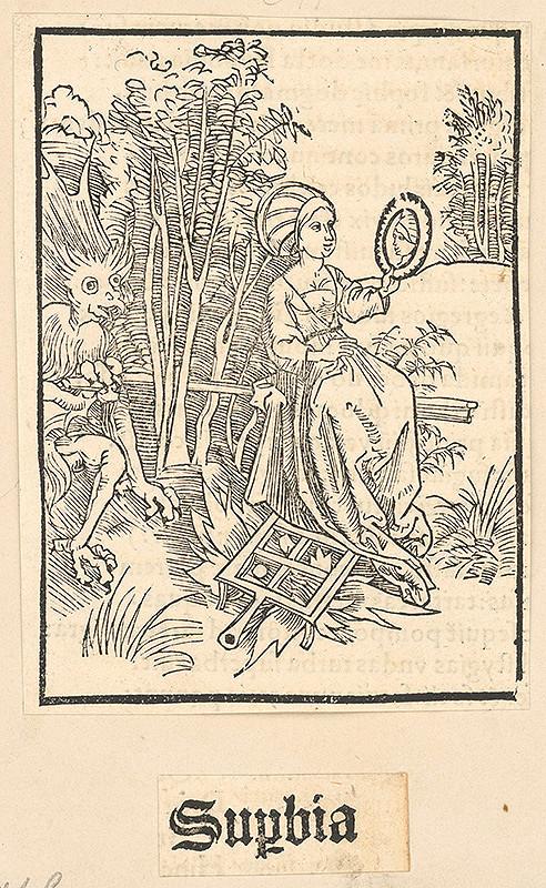 Stredoeurópsky grafik zo 16. storočia – Supbia