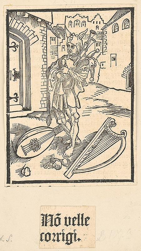 Stredoeurópsky grafik zo 16. storočia – Novelle corrigi