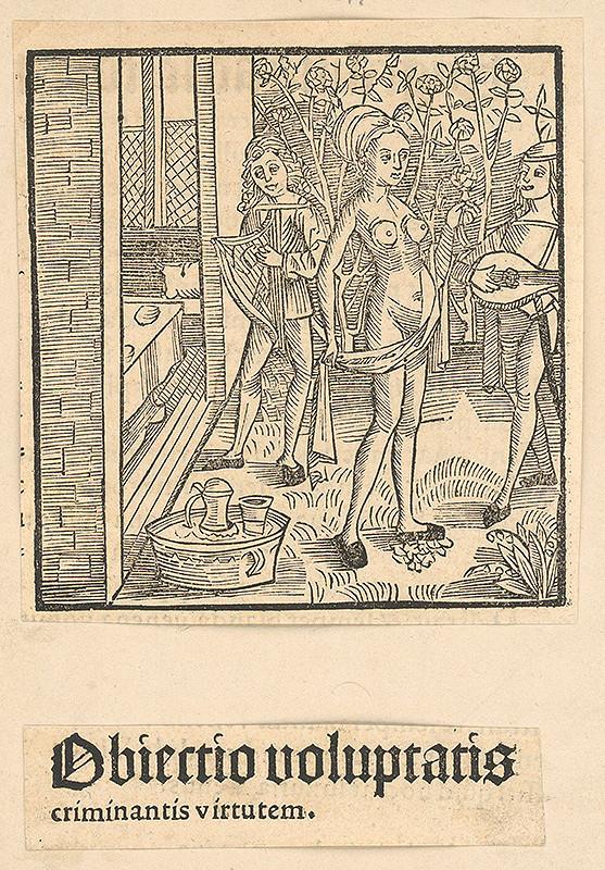 Stredoeurópsky grafik zo 16. storočia – Obiectio voluptatis